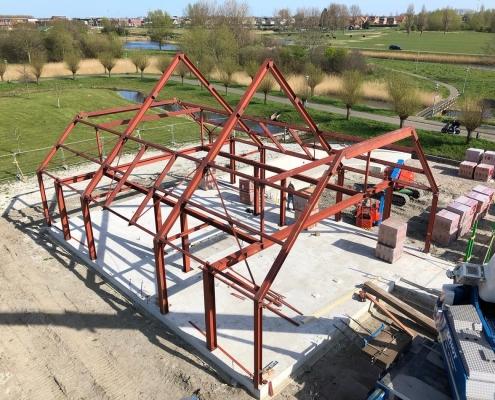 Constructie villa in Heemskerk - Anton Constructiewerken