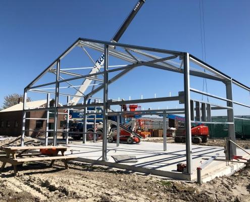 Staalconstructie bedrijfshal - Anton Constructiewerken