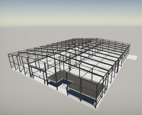 Engineering bedrijfspand - Harder Constructie- en Adviesbureau