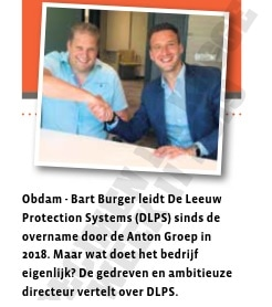Introduction The Leeuw Protection Systems North of the Netherlands