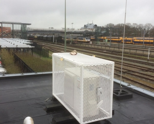 airco beschermingskooien plaatsen