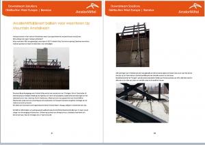 Anton Constructie- & Adviesbureau en Anton Staalbouw in nieuwsbrief ArcelorMittal