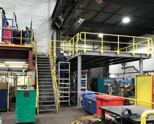 bordes in werkplaats - Anton Constructiewerken