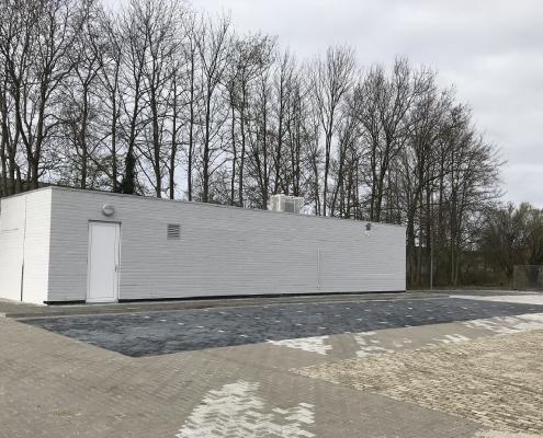 NS gebouw opgeknapt - Anton Rail en Infra