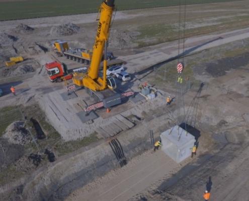 Vaarduiker en ontsluitingsbrug - Anton Civiel en Infratechniek