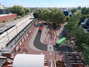 ProRail gunt project station Gouda aan Anton Rail & Infra