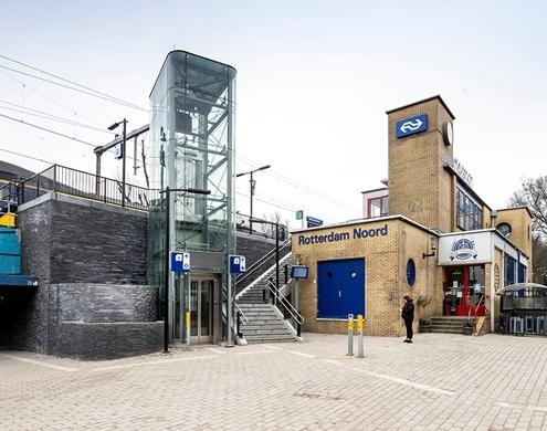 Verbouwing station Rotterdam Noord succesvol afgerond
