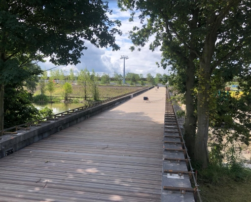 Circular bridge for Floriade Almere